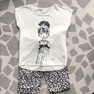 Other - Girls size 12 Outfit...DKNY/Children's Place